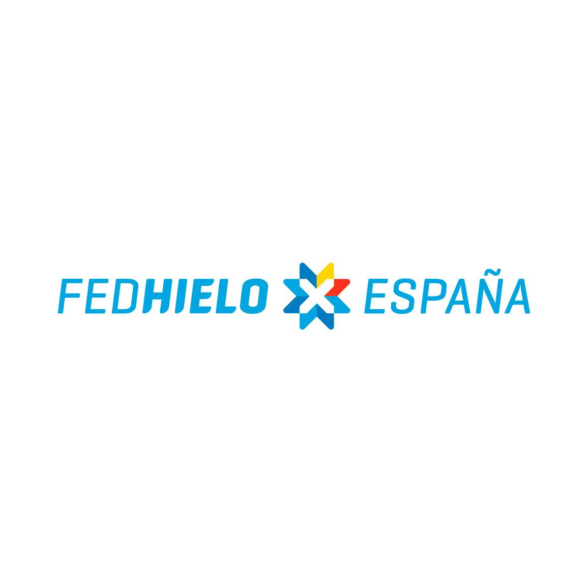 FEDHIELO. Real Federación Española Deportes de Hielo | logo